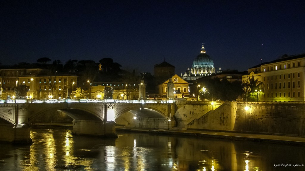 From bridge to the Sant Angel Castel